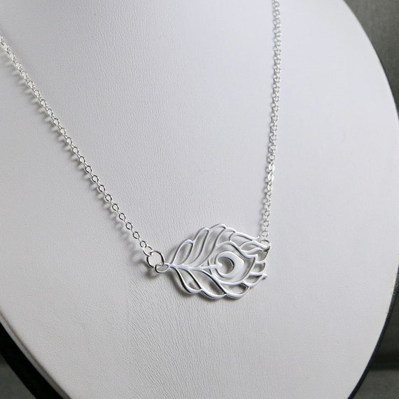 Ascension - Peacock Feather Necklace