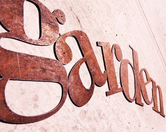 """Rusty Metal Letters 18"""" sizing"""