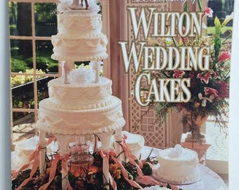 book wedding cake wilton cake book etsy 12094