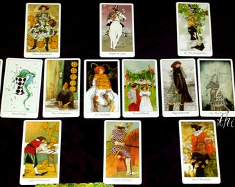 The Seasons - See a year ahead! Intuitive psychic tarot oracle card divination reading