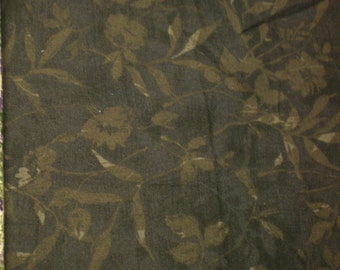 "Quilting cotton Brown woods  1/2 Yards 41"" w. Fabric"