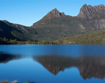 Panoramic print nature photography fine art photo wall art Tasmania Australia 18x8