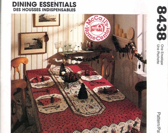 "Vintage 1996 McCall's 8438 Home Decorating ""Dining Essentials"" Sewing Pattern  UNCUT"