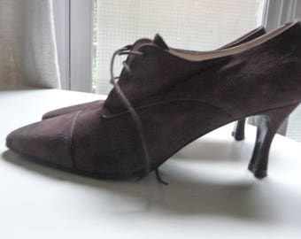 RETRO 80's BALLY - Shoes - leather shoes brown daum's - 38 - almost new - made in France-