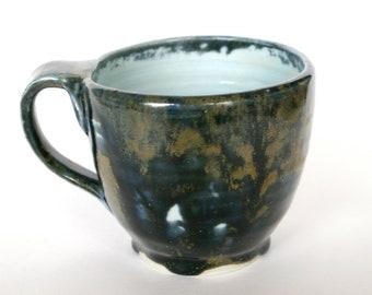 Blue and Gold Mug