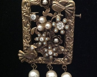 Brooch Alcozer Florence 90's