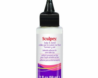 Sculpey ADHESIVE - Bake and Bond for Oven Bake Sculpting Polymer Clay