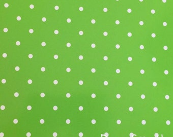 Lime Green Polka Dot Vinyl, Polka Dot Vinyl, Adhesive Vinyl, Lime Green Dot Vinyl, Permanent Vinyl, Polka Dots, Oracal 651, 12 X 12