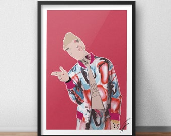 Lil Peep INSPIRED Print / Poster