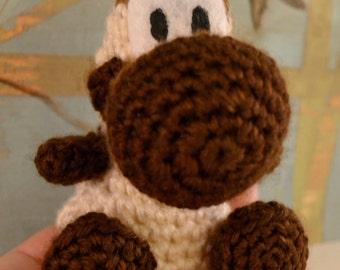Yoshi's Woolly World Hot Cocoa Yoshi Plushie Amigurumi