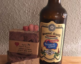 Beer Soap/ Oatmeal Stout Beer-handmade soap