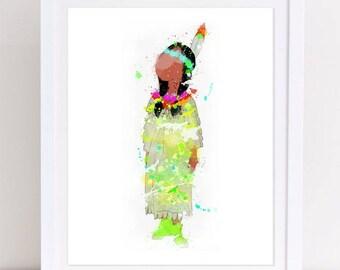 peter pan decor, peter pan poster, peter pan characters, indian princess , nursery poster, disney nursery, kids room decor, instant print