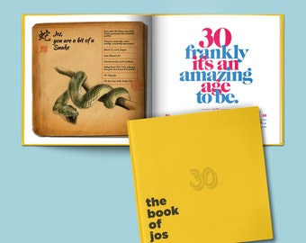 A Personalized 30th Birthday Gift - The Book of Everyone US