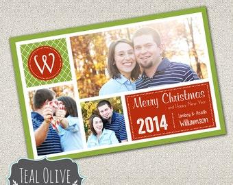 Christmas Card \ Merry Christmas \ Holiday Card \ Photo Christmas Card