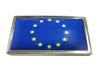 Thin Bordered European Union Flag Magnet