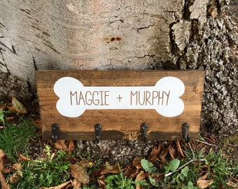 Rustic home decor,dog leash holder,farmhouse decor,farmhouse sign,wood sign,wood wall decor,dog leash sign,dog decor,dog sign,animal decor