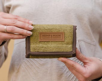 Hemp Wallet, hemp purse