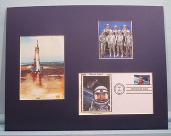 Project Mercury - Alan Shepard is the First American into Space & First Day Cover of the Project Mercury stamp