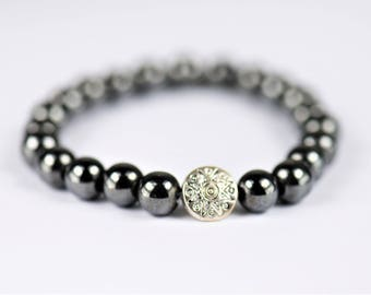 Hematite Bracelet ~ Pain Relief & Circulation