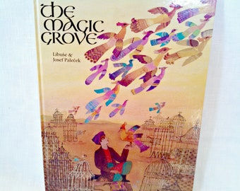 "Vintage Children's Book, ""The Magic Grove,"" Persian Folktale Retold by Libuse Palecek, Illustrated by Josef Palecek, Pub 1985"