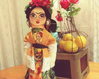 Collectible  frida doll