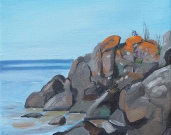 Superior Rocks Giclee Print