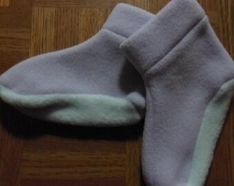 Children's Fleece Slippers Child's Shoe Size 3-5