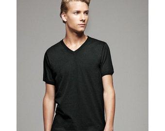Men's V-Neck T-shirt - Custom Colors for Any Design in Our Shop - Tee Vneck