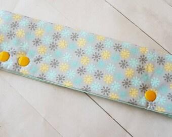 """Flower Pattern DPN Holder -for 8"""" DPNs  -dpn Cozy -DPN Cover -Knitting Needle Holder -Needle Cozy"""