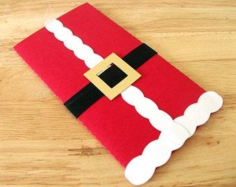 Father Christmas Gift Card, Money Gift Envelope, Christmas Money Gift, Money Gift Box, Money Gift Holder, Christmas Money Wallet, Santa Box