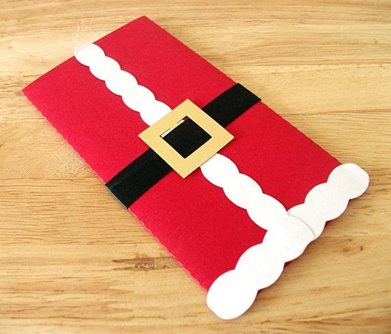vater weihnachts geschenk geld geschenk umschlag weihnachten. Black Bedroom Furniture Sets. Home Design Ideas