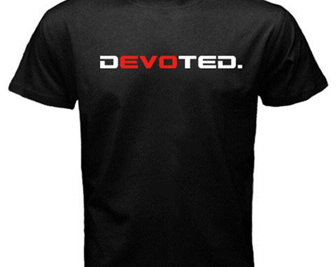 dEVOted Black T-Shirt Mitsubishi EVO VIII X