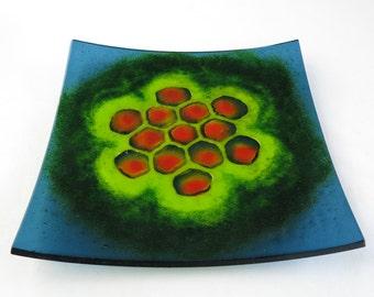 Hexabenzocoronene Molecule Fused Glass Dish