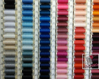 Kit 18 Threads Gütermann 100 meters, 100% polyester, quality # 1, SURPRISE