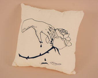 Thorny Rose Pillow