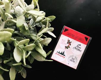 Modern Christmas Gift Labels