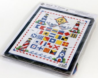 Needlemagic Counted Cross Stitch Kit, Nautical, Lighthouses, NEW, #4095