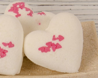 Love Spell Bath Bomb No. 2  - Heart Bath Bomb , Gift For Her, Gift For Women, Mothers Day Gift