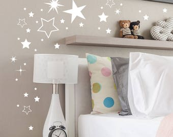 Wall Decal Stars 180 pieces M2030