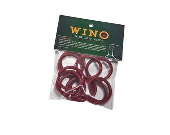 WINO Wine Drip Rings (12-pack)