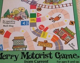Merry Motorist Board Game 1981 Current Inc ,childhood memories,