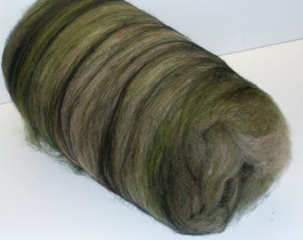 Multi Fibered Batt for Hand Spinning Yarn