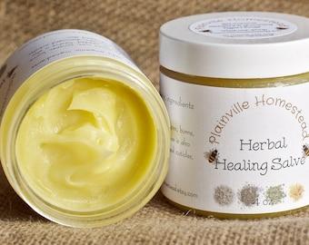 Organic Herbal Healing Salve || Healing Salve || Healing Cream || Herbal Salve