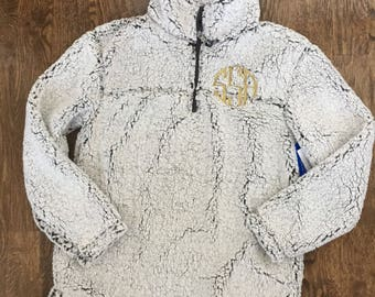 Sherpa Pullover, Monogrammed (youth and adult sizes)