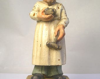 A Painted 1958 Figure of a Psychiatrist Z30