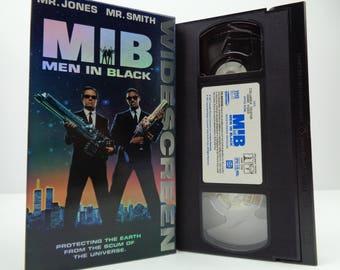 men in black VHS Tape