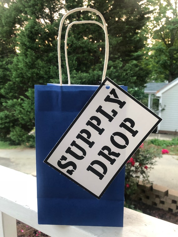 Fortnite Supply Drop Free Printable | Fortnite Drop