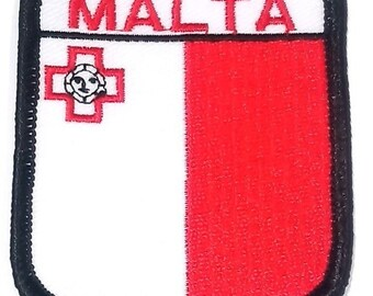 Malta Embroidered Patch