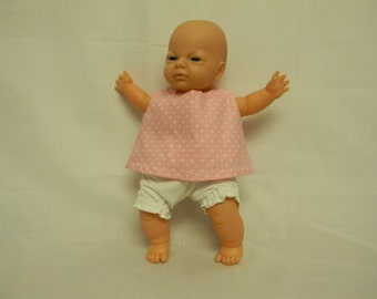 Two Piece Outfit for 10 Inch Doll