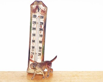 SALE!   Metal Dog Thermometer